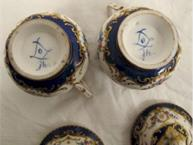 sevres 1979 pot de creme cups mark