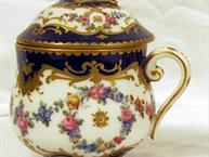 sevres 1979 pot de creme cup close up