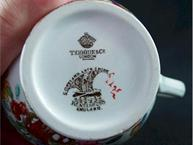 spode pot de creme cup mark