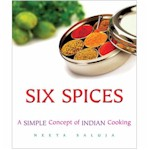 6 spices cookbook