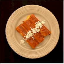 cascabel cheese enchilada