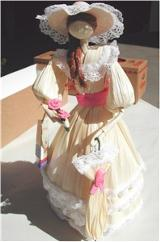 "corn husk doll ""dama antigua"""