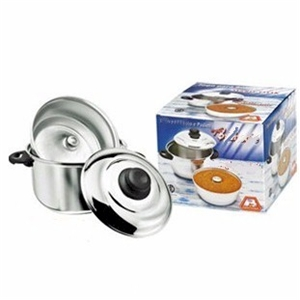 flan pan set 3pc double boiler