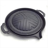cast iron korean bbq grill pan 28cm