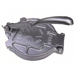 "tortilla press 6.5"" cast iron"