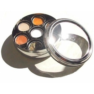 Amazon.com: Spice Tiffin Masala Dabba with Spice Levelers in Each ...