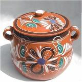 mexican bean pot colorful