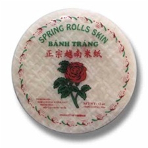 spring roll wrappers 4pk 81/2""