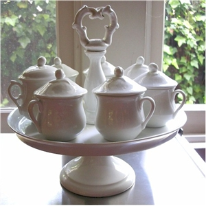 20th century pot de creme set