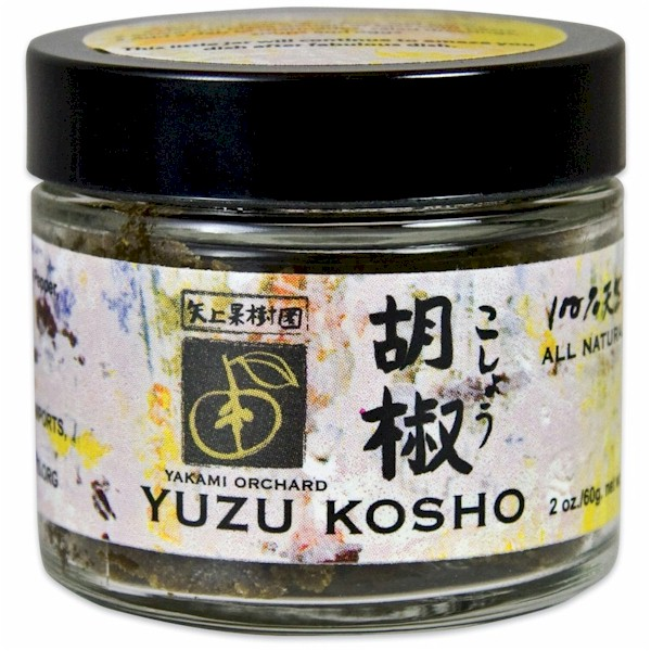 ... Yuzu Kosho Red is a spicy, hot Japanese condiment made from Yuzu fruit