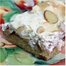 Image of Coconut Almond Meringue Bars, Gourmet Sleuth