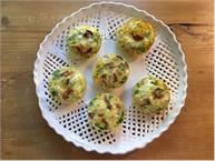 Bacon Jalapeno and Scallion Egg Muffins