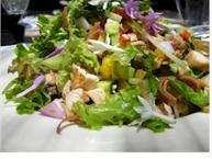 Banana Blossom Salad With Asian Pears And Chicken