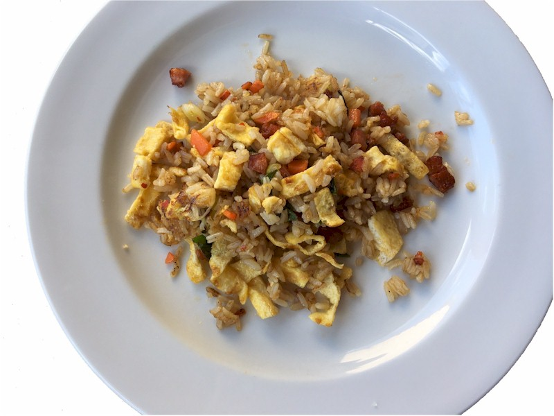 nutrisystem day 142 lunch fried rice