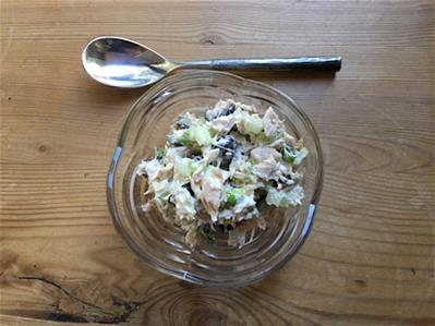 best-low-carb-tuna-salad-served