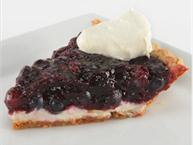 blueberry bourbon cream cheese pie