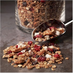 blueberry vanilla granola