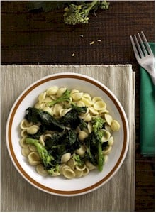 Broccoli Rabe With Garlic, Anchovy and Hot Pepper