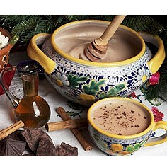 Champurrado With Honey