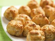 Bacon Cheese Puff Balls