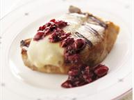 Wisconsin Fontina Cherry Pork Chop