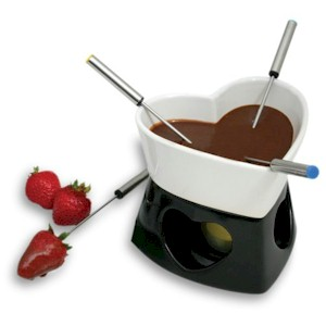 Whiskey Chocolate Fondue : Recipe - GourmetSleuth