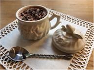 chocolate low carb pot de creme
