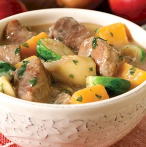 Image of Cider-braised Spicy Pork Stew, Gourmet Sleuth