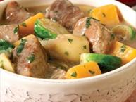 Cider-Braised Spicy Pork Stew