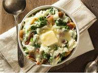 Colcannon With Kale and Bacon