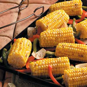 corn n peppers