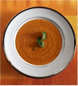 egyptian red lentil soup
