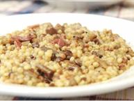 Fregola With Pancetta & Pecorino