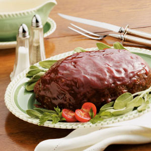 glazed meat loaf