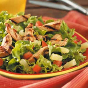 This Grilled Chicken Salad recipe from Taste of Home is a favorite for ...