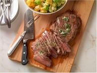 Grilled Rosemary London Broil