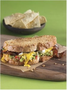 guacamole chips grilled cheese