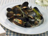 Mussels In Coconut Milk Curry