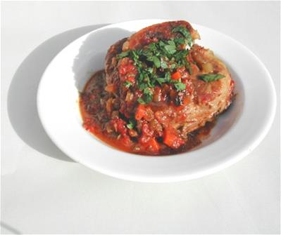osso buco in bowl
