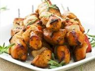 Oven Fried Chicken Satay