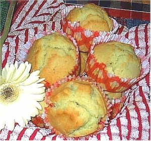 Image of Pandan Muffins, Gourmet Sleuth