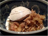 Pear Oat And Walnut Crisp