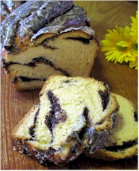 Image of Glazed Poppy Seed Braid, Gourmet Sleuth