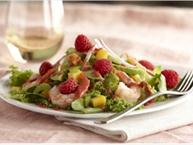 raspberry shrimp salad