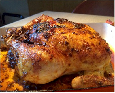 roasted chicken with indian spices