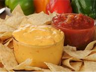 Roasted Chile Queso Dip
