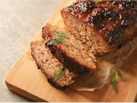 South Beach Diet Turkey Meatloaf