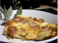 Turkey Sausage and Yellow Squash Frittata