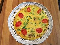 Summer Squash and Gruyere Frittata