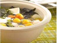 tofu winter vegetable soup